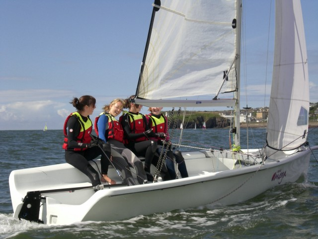 Sailing in Dunmore East